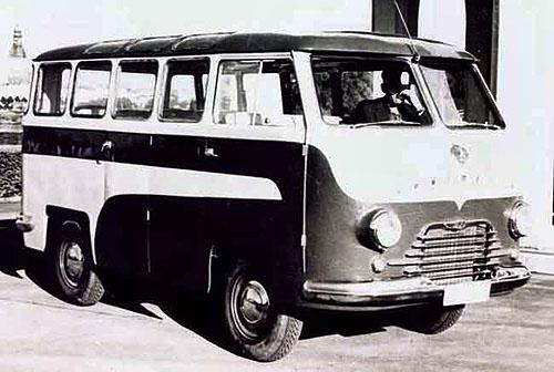 Клуб ретро автобусов и микроавтобусов